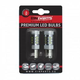 P21W LED bulbs 80W (12 x...