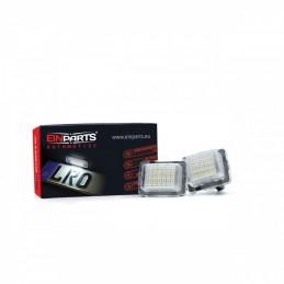 LED License Plate Lights MERCEDES CLS C218 (2011-TODAY)